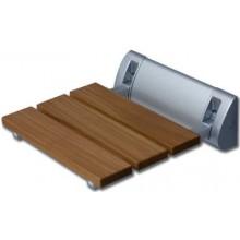 ROLTECHNIK SEAT ECO sedátko 320320mm do sprchového koutu, dřevo/chrom