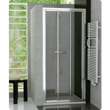 SANSWISS TOP LINE TOPS3 sprchové dveře 1200x1900mm, třídílné posuvné, aluchrom/čiré sklo Aquaperle