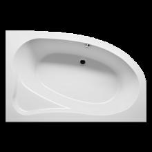 Vana plastová Riho tvarovaná Lyra 170 L 170x110cm bílá