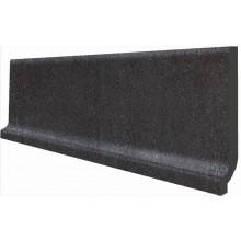 RAKO UNISTONE sokl 8,5x3cm, s požlábkem, černá