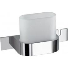 Doplněk držák se skleničkou Ideal Standard SimplyU  chrom