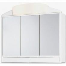 JOKEY RANO zrcadlová škříňka 59x51cm s osvětlením, bez zářivek, plast, bílá