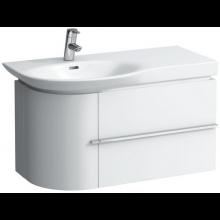 LAUFEN CASE skříňka pod umyvadlo 840x375x450mm 2 zásuvky, bílá lesklá 4.0153.2.075.464.1