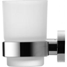 Doplněk držák se skleničkou Duravit D-Code levý chrom mat