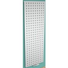 CONCEPT 200 FLUTE radiátor koupelnový 540W designový, středové připojení, světle šedá