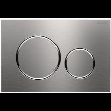 GEBERIT SIGMA 20 ovládací tlačítko 24,6x16,4cm, nerezová ocel kartáčovaná/leštěná/kartáčovaná
