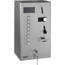 SANELA SLZA 02M mincovní automat 165x300mm, pro sprchy, na zeď, nerez