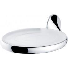 Doplněk mýdlenka Nimco Esprit  chrom/bílé sklo