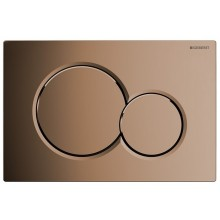 GEBERIT SIGMA 01 ovládací tlačítko 24,6x16,4cm, mosazná 115.770.DT.5