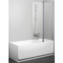Zástěna vanová Ravak - Chrome CVS2 990x1500 mm bílá/transparent