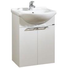 LEBON ELEMENTS B skříňka s umyvadlem 52x30x70cm, závěsná, bílá