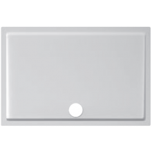 JIKA PANDA sprchová vanička z litého mramoru 1200x800x30mm obdélníková, bílá