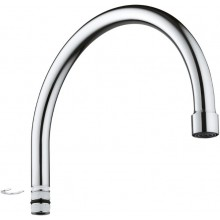 GROHE U-spout, chrom