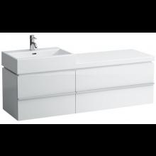 LAUFEN CASE skříňka pod umyvadlo 1490x455x455mm se 4 zásuvkami, bílá lesklá 4.0139.4.075.463.1