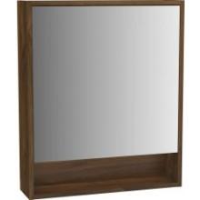 VITRA INTEGRA koupelnové zrcadlo 600x156x716mm, pravé, metallic walnut