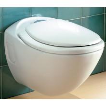 WC závěsné Ideal Standard odpad vodorovný Cresta  bílá