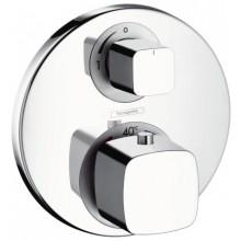 Baterie sprchová Hansgrohe podomítková termostatická Ecostat E s uzavíracím ventilem, vrchní sada  chrom