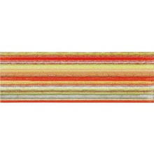RAKO TENDENCE dekor 20x60cm, červeno-zelená