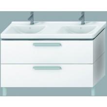 Nábytek skříňka pod umyvadlo Jika Cubito 130 cm bílá-bílá