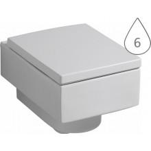 WC závěsné Keramag odpad vodorovný Preciosa II 4,5/6 l bílá