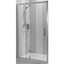 IDEAL STANDARD SYNERGY dveře pivotové 1200x1900mm, sklo, lesklá stříbrná