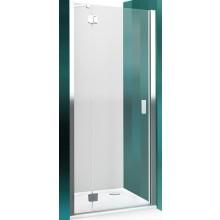 ROLTECHNIK HITECH LINE HBN1/900 sprchové dveře 900x2000mm jednokřídlé pro instalaci do niky, bezrámové, brillant premium/transparent