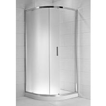 Zástěna sprchová čtvrtkruh Jika sklo Cubito pure 80x195 cm transparentní