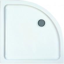 LAUFEN MERANO sprchová vanička 900x900mm, čtvrtkruhová, bílá