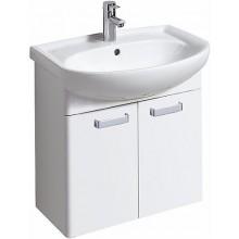 KERAMAG RENOVA NR. 1 skříňka pod umyvadlo 60x59x31cm, závěsná, bílá/bílá lesklá 880065000
