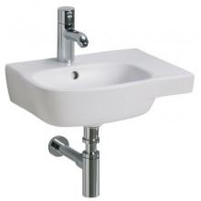 Umývátko klasické Kolo s otvorem Style asymetrické 45x35 cm bílá+Reflex