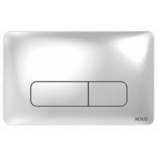KOLO NOVA PRO ovládací tlačítko 24x15x0,6cm pro instalační modul TECHNIC GT, chrom 94160002