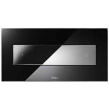 VIEGA VISIGN FOR STYLE 12 8332.1 WC ovládací deska 271x140mm, sklo parsol/černá