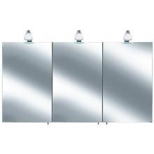 Nábytek skříňka Keuco Royal 30 zrcadlová stř.elox/bílá matná