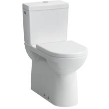 LAUFEN PRO stojící kombinační mísa 360x700mm hluboké splachování, VARIO odpad, bílá LCC 8.2495.5.400.000.1