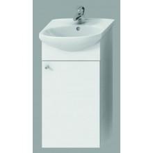 JIKA ZETA skříňka pod umyvadlo 365x255x705mm, bílá/bílá