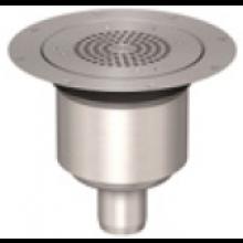 ACO EG 150 podlahová vpust DN50 teleskopicky nastavitelná, nerez ocel