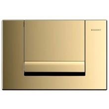 GEBERIT TANGO ovládací tlačítko 24,6x16,4cm, pozlacená 115.760.45.1