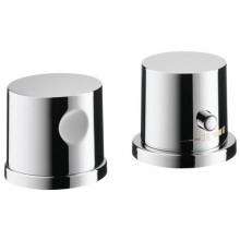 AXOR UNO vrchní sada pro dvouotvorový termostat pro montáž na okraj vany chrom 38480000