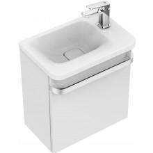 IDEAL STANDARD TONIC II skříňka 450mm pod umývátko, pravá, lesklý lak bílý, R4306WG