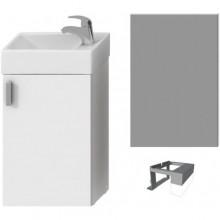 JIKA PETIT nábytková sestava 386x221x585mm, bílá/bílá