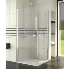 Zástěna sprchová dveře Ronal Swing-Line SLE1D 0900 50 07 900x1950 mm aluchrom/čiré AQ