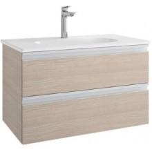 IDEAL STANDARD TESI skříňka pod umyvadlo 800x440x490mm, 2 zásuvky, světlé dřevo