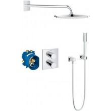 GROHE GROHTHERM 3000 COSMOPOLITAN sprchový set termostatická sprchová baterie DN15, hlavová sprcha, sprchové raménko, podomítkový termostat, chrom