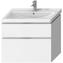 JIKA CUBITO-N skříňka pod umyvadlo 840x467x683mm, 2 zásuvky, bílá