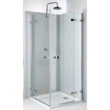 KOLO NEXT čtvercový sprchový kout 800x1950mm křídlové dveře otevírané vně, chrom/čiré skloReflexKolo HKDF80222003