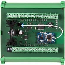 SANELA SLZA 16 rozdělovač průtokoměrů 24V DC, na lištu