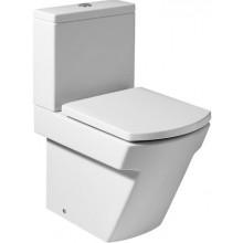 ROCA HALL WC mísa kapotovaná kombi 355x595mm hluboké splachování, vario odpad, bílá