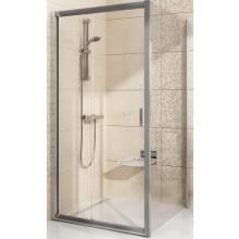 Zástěna sprchová boční Ravak sklo BLIX BLPS-100 1000x1900mm bílá/grape