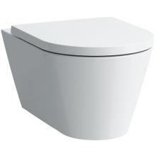 WC závěsné Laufen odpad vodorovný Kartell 37x54,5x43 cm černá lesklá