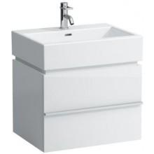 LAUFEN CASE skříňka pod umyvadlo 595x455x425mm se dvěma zásuvkami, bílá lesk